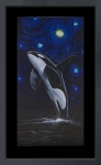 Orca Under the Starry Night