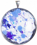 Art to Wear Pendant - Round