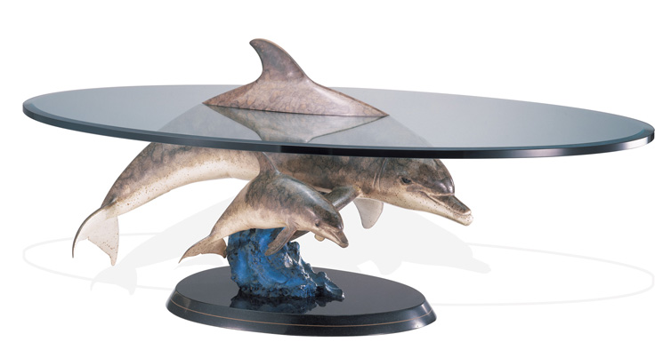 ABOVE AND BELOW DOLPHINS TABLE